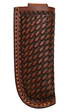 Ranger Belt Company Tan Basket Tool Leather Knife Sheath