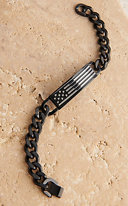 Montana Silversmiths Kristy Titus Let Freedom Ring ID Bracelet