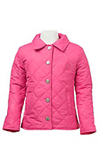 Wired Heart Girls Pink Jacket