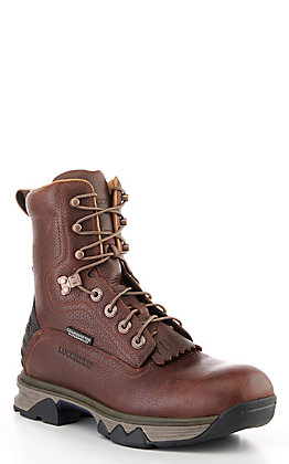 Lucchese Frontier Men's Brown Waterproof Lace Up Work Boot