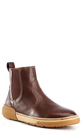 Lucchese Men's After-Ride Leather Chelsea Boot