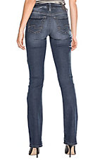 Silver Women's Dark Aiko Slim Boot Cut Jeans