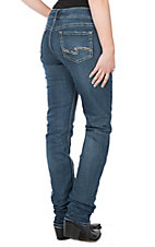 Silver Women's Medium Wash Suki Straight Mid Rise Jeans