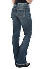 Silver Women's Medium Wash Suki Slim Boot Cut Jeans