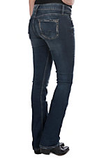Silver Jeans Women's Suki Medium Stone Wash Slim Boot Jeans
