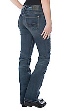 Silver Jeans Women's Suki Slim Medium Wash Boot Cut Jeans