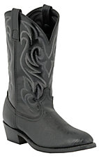 Laredo Men's Black Shoulder Print Western Boots