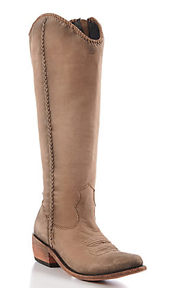 Liberty Black Women's Vegas Taupe Tall Fashion Boots