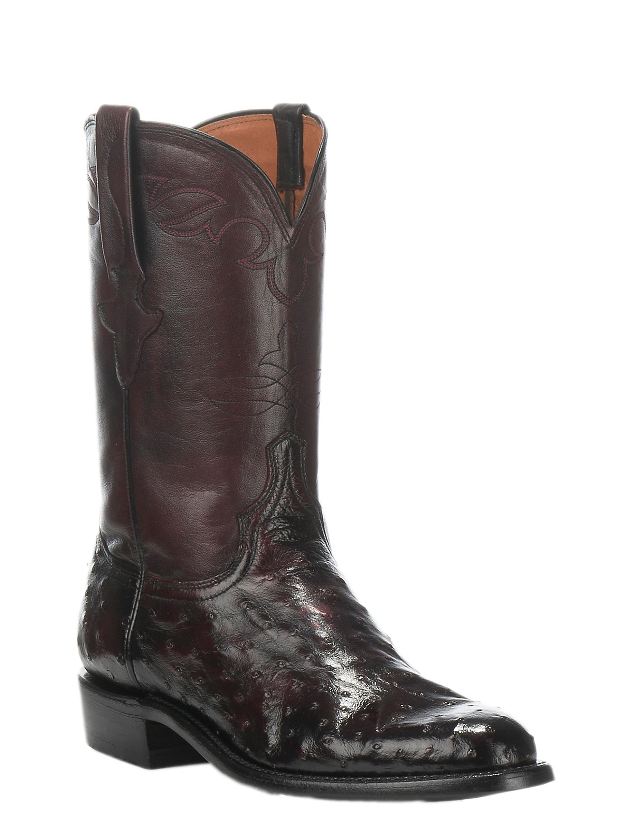 leather Country boots - Black Blue Bird Shoes oCYES