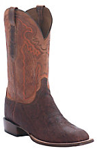 Lucchese Cowboy Collection  Men's Bark Elephant Square Toe Boot