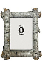 HiEnd Accents Birch Log 5x7 Picture Frame