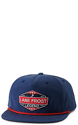 Lane Frost July Navy with Legend Patch Cap