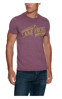 Lane Frost Men's Heather Maroon Champ Short Sleeve T-Shirt