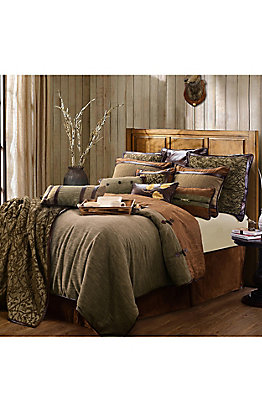 HiEnd Accents Highland Lodge Bedding Set - King
