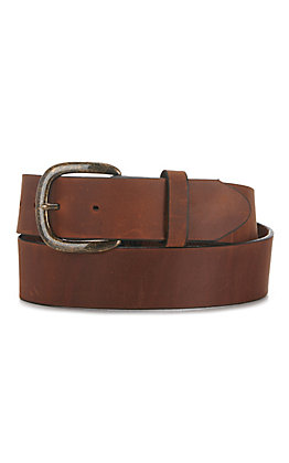 Justin Oiled-Brown Basic Work Belt