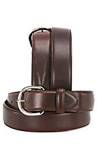 Silver Creek Classics  Oiled Brown  Western Belt  1 3/8