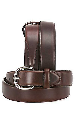 Silver Creek Classics  Oiled Brown  Western Belt  1 3/8''