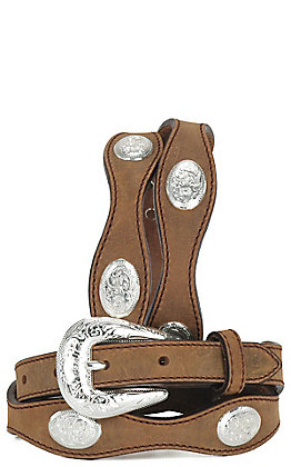 Silver Creek Kids Aged Bark Lil' Virginia Belt