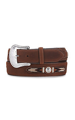 Tony Lama Brown Bark Sierra Madre Belt