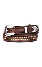 Tony Lama Brown Don Diego Belt