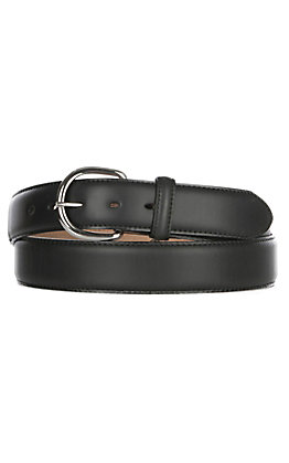 Justin Men's Black Leather Western Belt - Sizes 48''-56''