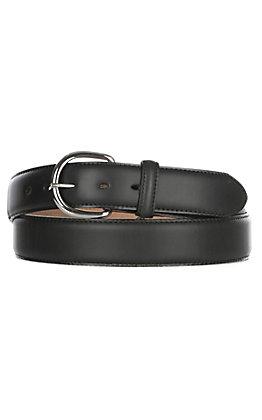Justin Men's Black Leather Western Belt - Sizes 48''-56''