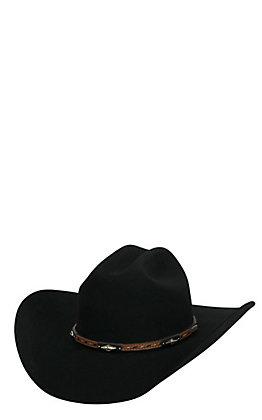 Cavender's 3X Westbrooke Black Premium Wool Cowboy Hat