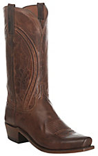 Lucchese 1883 Men's Antique Peanut Brittle Mad Dog Goat Snip Toe Western Boots