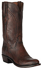 Lucchese 1883 Men's Antique Peanut Brittle Mad Dog Goat R-Toe Western Boots
