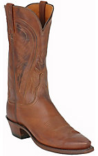 Lucchese 1883 Ladies Ranch Hand Brown Western Boots