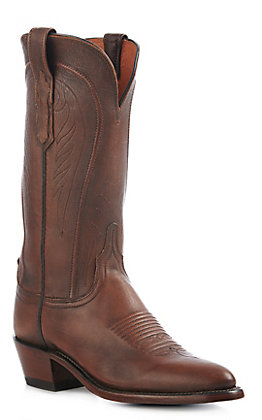 Lucchese 1883 Women's Antique Peanut Brittle Mad Dog Goat Traditional R-Toe Western Boots