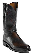 Lucchese 1883 Men's Teak Brown Buffalo Roper Boot