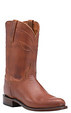 Lucchese 1883 Men's Cognac Burnished Ranch Hand Roper Boot