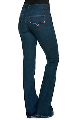Kimes Ranch Women's Lola Mid Rise Flare Leg Jeans