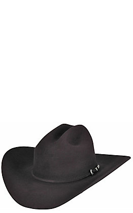 Rodeo King 7X Low Rider Black Felt Cowboy Hat
