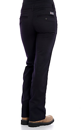 Lapco Women's Navy CAT 2 FR Boot Cut Uniform Pants