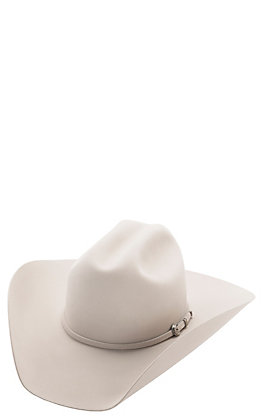 Rodeo King 5X Low Rodeo Silver Belly Felt Cowboy Hat- LRD5SBSELF