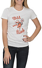 Wrangler Women's White Wild and Rank Logo T-Shirt