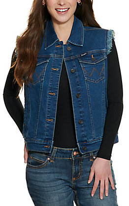 Wrangler Retro Women's Sleeveless Denim Vest