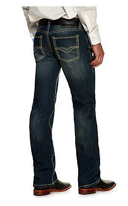 Rock & Roll Denim Pistol Dark Wash Straight Leg Jean