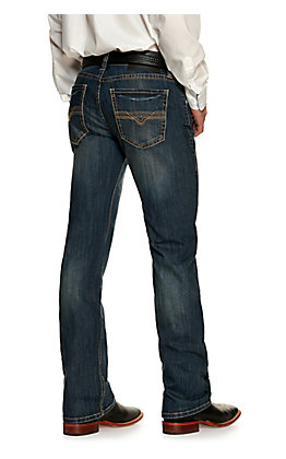 Rock & Roll Denim Pistol Dark Wash Reflex Stretch Straight Leg Jean