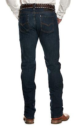 Rock & Roll Denim Men's Revolver Dark Wash Straight Leg Slim Fit ReFlex Stretch Jeans