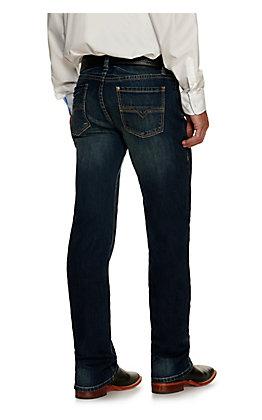 Rock & Roll Denim Men's Revolver Vintage '46 Dark Wash Slim Reflex Stretch Straight Leg Jean