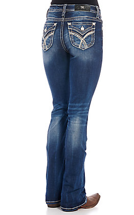 Miss Me Women's Over The Moon Bootcut Jeans