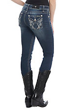 Miss Me Women's Fly Away Medium Wash Skinny Jeans