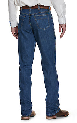 Cinch Men's Green Label Dark Stonewash Relaxed Fit Tapered Leg Jean