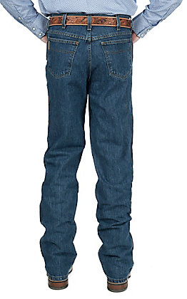 Cinch Bronze Label Dark Stonewash Slim Fit Jeans