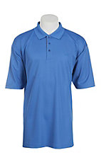 Wrangler 20X Men's Blue S/S Polo Shirt