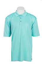 Wrangler 20X Men's Light Blue S/S Polo Shirt