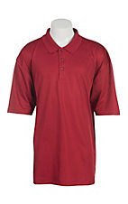 Wrangler 20X Men's Red S/S Polo Shirt